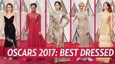 oscar 2017 bester oscars 2017 best dressed