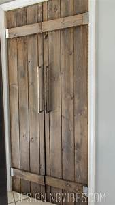 double pantry barn door diy under 90 With best wood for barn door