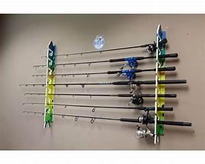 Big Daddy Fishing Rod Racks - 7 Rod Rack - Mahi