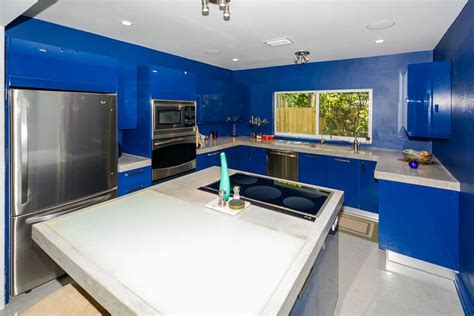 Ideas For Above Kitchen Cabinet Space - 25 blue and white kitchens design ideas designing idea