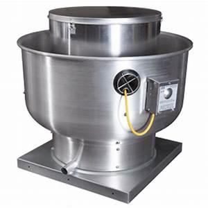 8000 Cfm Belt Drive Upblast Exhaust Fan With 30 U0026quot  Wheel  5