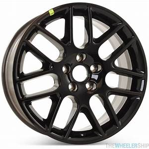 "2012-2014 Ford Mustang Wheels | 18"" OEM Mustang Wheels - Black"