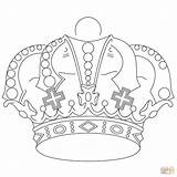 Crown Coloring Pages Royal Royals Printable Kansas Crowns King Jewels Drawing Adults Supercoloring Getdrawings Princess Print Comments Coloringhome Whitesbelfast Getcolorings sketch template