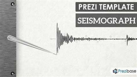 seismograph prezi template prezibase