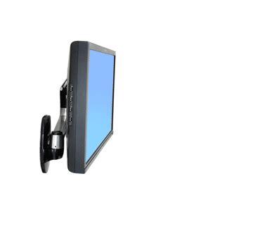 ergotron 45 268 026 lx hd wall mount monitor swivel arm