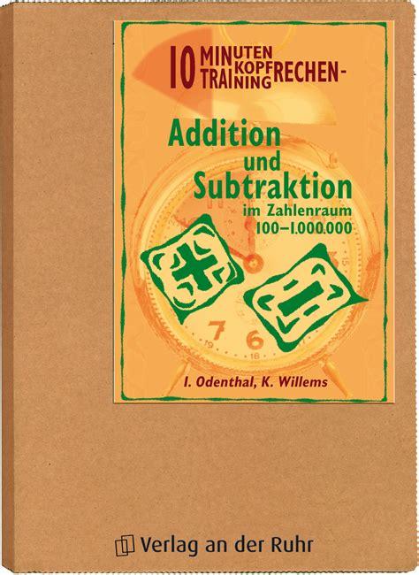 10 Minuten KopfrechenTraining Addition und Subtraktion