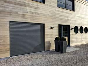 porte de garage enroulable lames aluminium haute densite With porte de garage enroulable jumelé avec ouvrir une porte