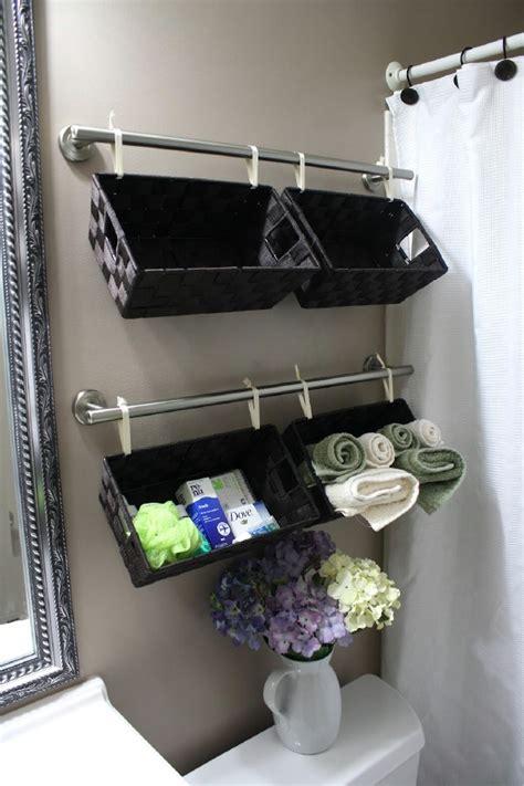 Bathroom Organization Ideas Diy by 30 Brilliant Bathroom Organization And Storage Diy