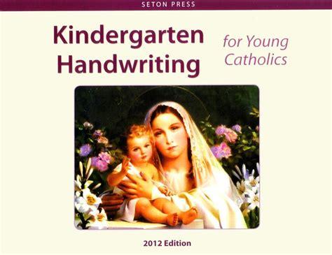 kindergarten handwriting  young catholics  images