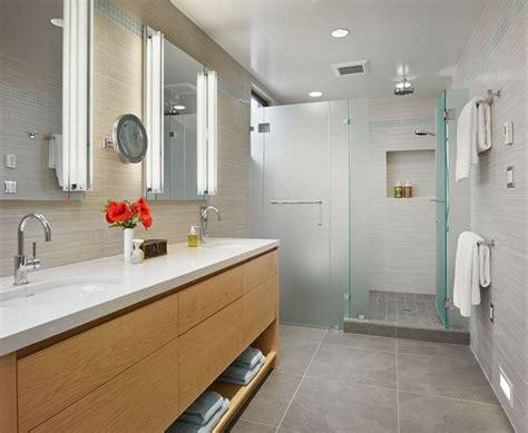 examples  bathroom vanities   open shelving