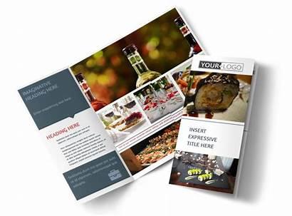 Brochure Restaurant Dining Fine Template Templates Tri