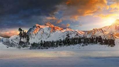 Snow Mountains Mountain Wallpapers