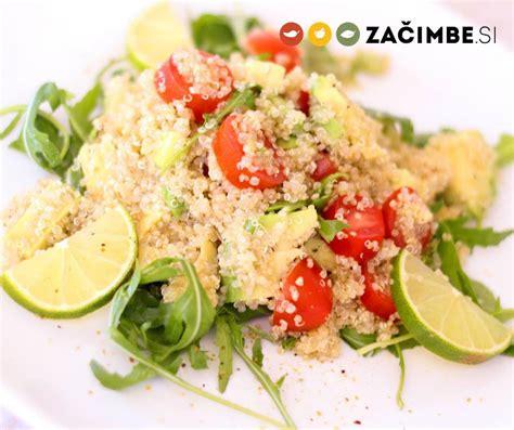 Recept: Kvinoja z meto in koriandrom - priprava in sestavine - trgovina Začimbe