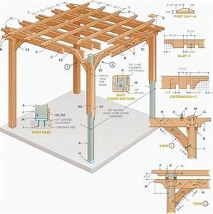 Garten Pergola Selber Bauen : 20 beispiele daf r wie sie eine neue pergola bauen k nnen ~ Orissabook.com Haus und Dekorationen