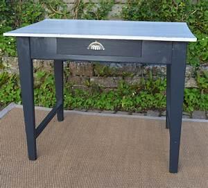 Petite Table Bureau : petite table bureau ancienne bandeau haut ~ Teatrodelosmanantiales.com Idées de Décoration
