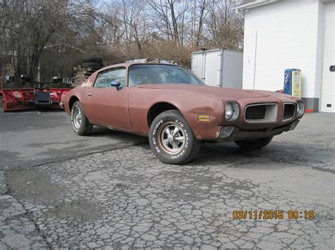 Car For Sale by 1972 Pontiac Firebird Trans Am Project Car For Sale
