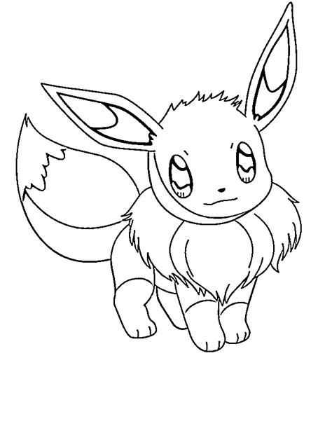 eevee coloring pages coloring pages saved eevee coloring pages 6 simple