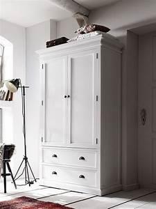 Kleiderschrank Weiß Vintage : schlafzimmer halifax weiss komplett im landhausstil pick ~ Watch28wear.com Haus und Dekorationen