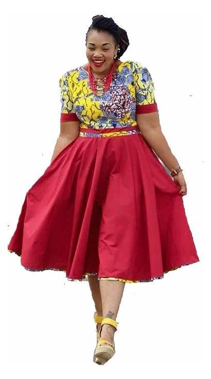 Traditional African Dresses Attire Designer Sotho Short