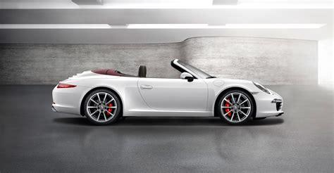 2018 White Porsche 911 Carrera S Cabriolet Wallpapers