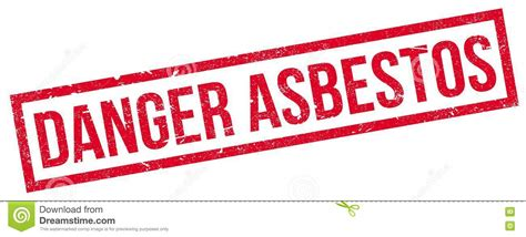 danger asbestos roof concept royalty  stock image