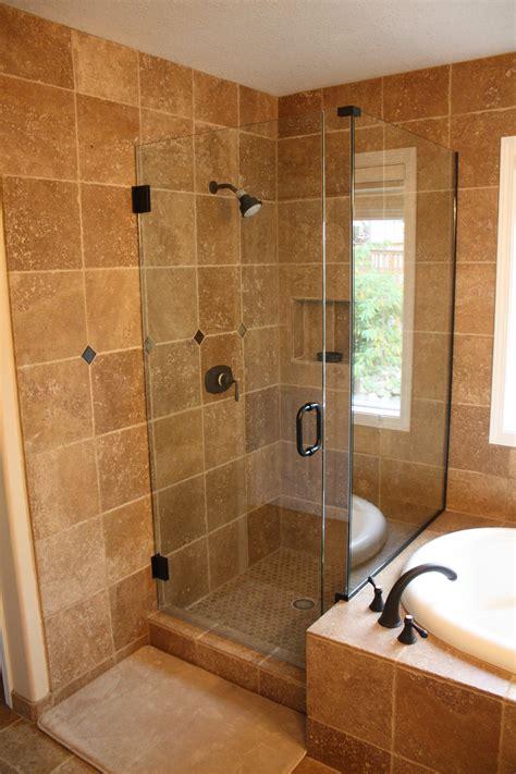 undermount bathroom sink with tile walk in shower alex freddi construction llc