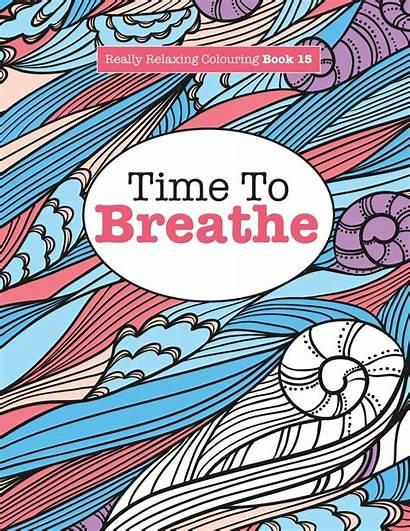 Breathe Relaxing Colouring Really Volum Elizabeth James
