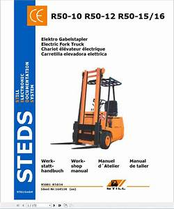 Still Steds Forklift Truck All Series 2019 Workshop Manual