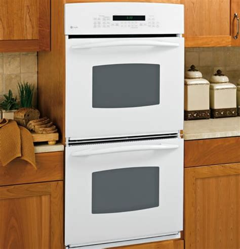 GE PK956WMWW 27 Inch Double Electric Wall Oven with 3.9 cu