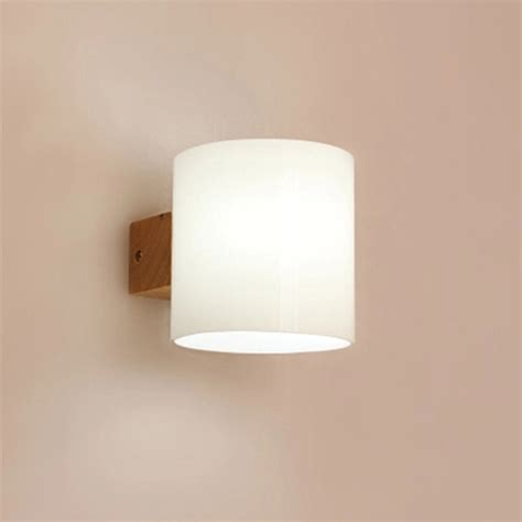 aliexpresscom buy modern wall sconce wood acrylic led