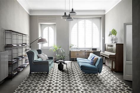 D Segni collection: Stoneware Handmade Cement Tiles   Marazzi