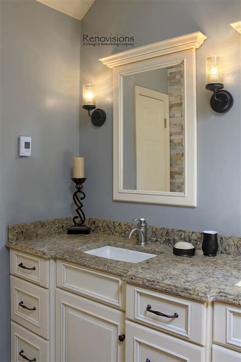 Bathroom With Bronze Fixtures by A Recently Completed Master Bathroom Remodel By