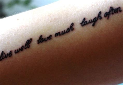 35 Awesome Live Laugh Love Tattoos