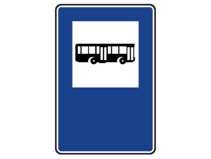 Esta señal indica... :: el lugar reservado para parada de ...
