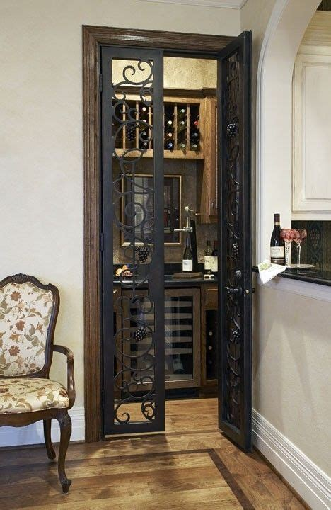 convert closet the kitchen to a wine room these