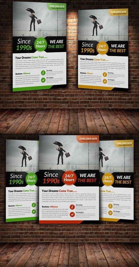 creative business flyer template  images business