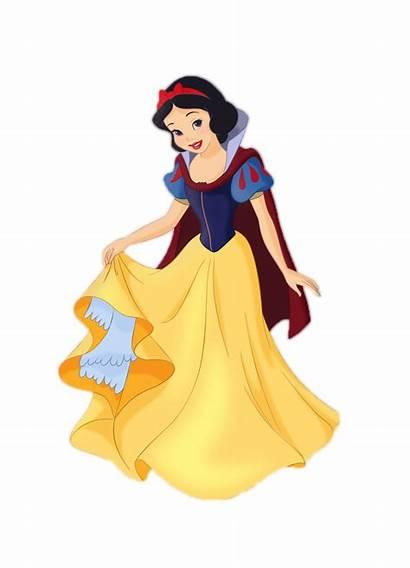 Snow Clipart Princess Disney Princesas Cartoon Branca