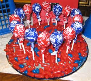 Red White and Blue Candy Buffet