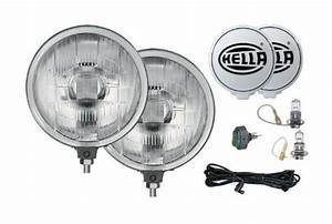 Hella 005750952 500 Series 12v55w Halogen Driving Lamp Kit