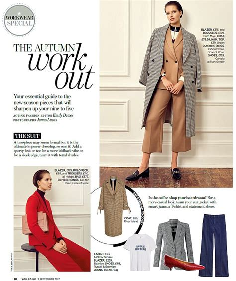 Fashion: The Autumn Work Out