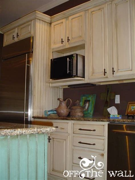 My Faux Side  Painted Kitchen Cabinets  Country Home