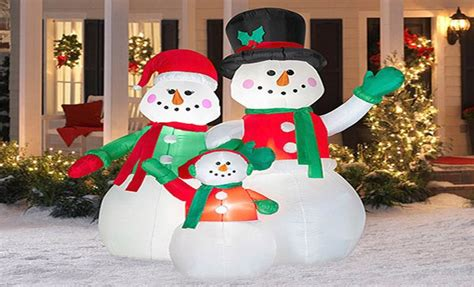 christmas outdoorlawn decorations   cozy home