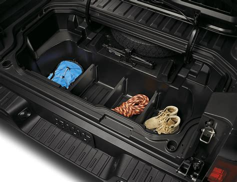 honda ridgeline  bed trunk dividers
