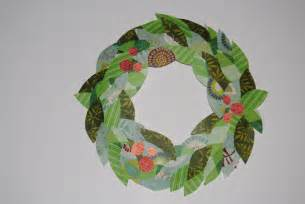 boogaloo paper wreath craft for kids