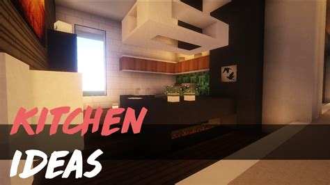 minecraft kitchen ideas inspiration youtube