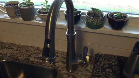 fix moen kitchen faucet  water pressure wow blog