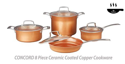 copper bottom cookware reviews copper cookware ceramic cookware cookware set