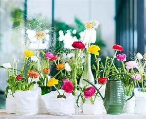 Deko Vasen Mit Blumen : blumendeko vasen mit papierh lle ~ Markanthonyermac.com Haus und Dekorationen