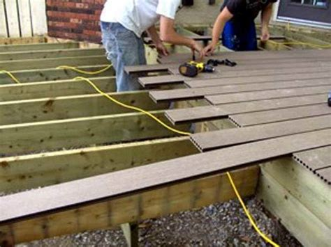planning ideas installing composite decking ideas