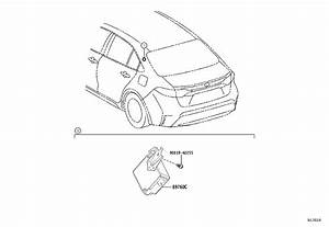 Toyota Corolla Tire Pressure Monitoring System Receiver